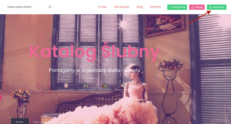 Katalog Ślubny